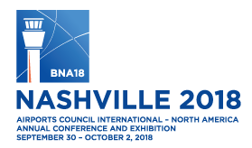 2018 ACI-NA Annual Conference and Exhibition Logo