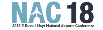 2018 F. Russell Hoyt National Airports Conference Logo